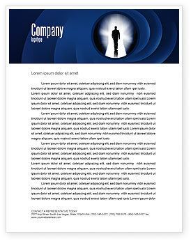 Careers/Industry: Road To Exit Letterhead Template #04586