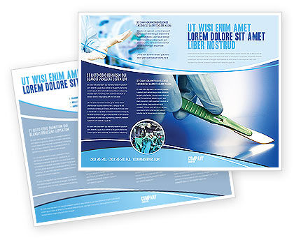 Scalpel Brochure Template