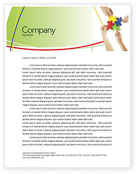 Consulting: Making Choices Letterhead Template #04592