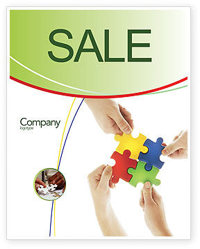 Consulting: Making Choices Sale Poster Template #04592