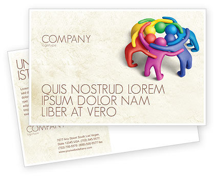 Consulting: Solidarity Postcard Template #04594