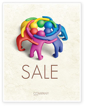 Consulting: Solidarity Sale Poster Template #04594