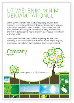 Green Solution Ad Template