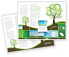 Nature & Environment: Green Solution Brochure Template #04597