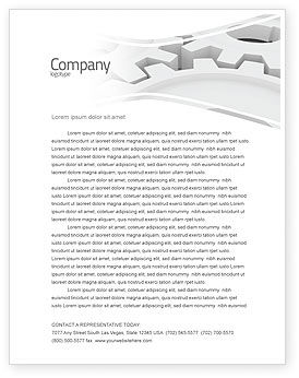 Utilities/Industrial: Process Letterhead Template #04598