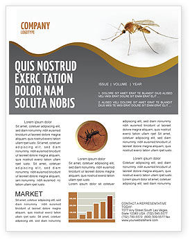 Mosquito newsletter template for microsoft word adobe indesign mosquito newsletter template toneelgroepblik Gallery