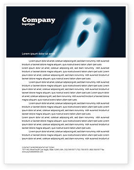 Technology, Science & Computers: Ghost Letterhead Template #04600