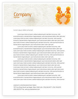 Unanimity Letterhead Template, 04601, Consulting — PoweredTemplate.com