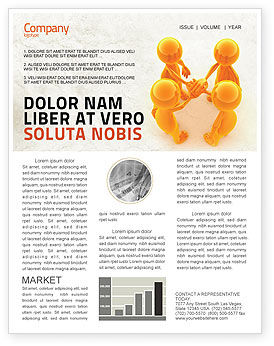 Unanimity Newsletter Template, 04601, Consulting — PoweredTemplate.com