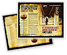 Art & Entertainment: Hindu Temple Brochure Template #04603