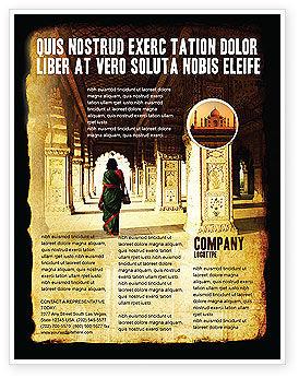 Art & Entertainment: Hindu Temple Flyer Template #04603