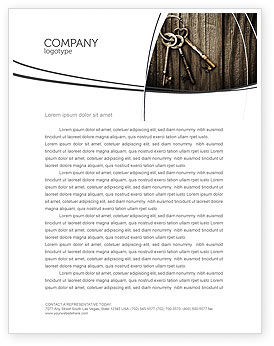 Keys Letterhead Template, 04609, Education & Training — PoweredTemplate.com