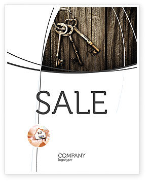 Keys Sale Poster Template, 04609, Education & Training — PoweredTemplate.com