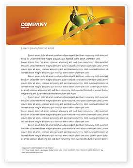 Olives Letterhead Template, 04622, Agriculture and Animals — PoweredTemplate.com