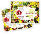 Agriculture and Animals: Modèle de Brochure de profusion de fruits #04634