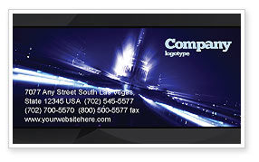 Washington Capitol Business Card Template, 04635, America — PoweredTemplate.com