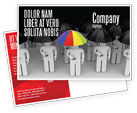 Consulting: Quality Management Postcard Template #04641