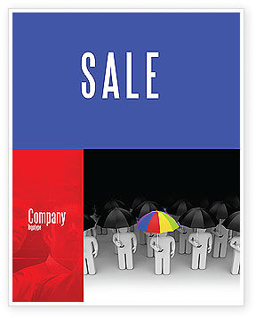 Consulting: Quality Management Sale Poster Template #04641