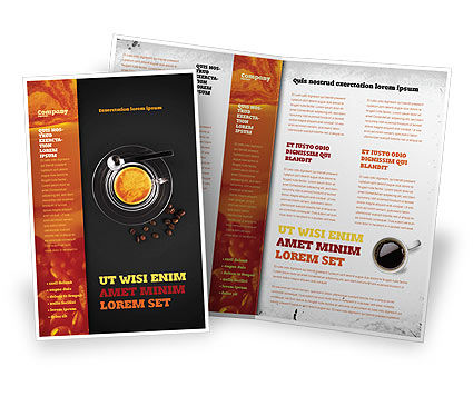 Coffee Shop Brochure Template Design And Layout Download Now