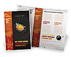 Food & Beverage: Coffee Shop Brochure Template #04643