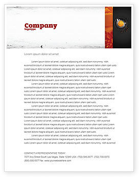 Coffee shop letterhead template layout for microsoft word adobe coffee shop letterhead template 04643 food beverage poweredtemplate spiritdancerdesigns Images