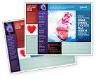 Medical: Artificial Heart Brochure Template #04644