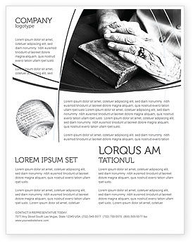 Religious/Spiritual: Good Book Flyer Template #04645