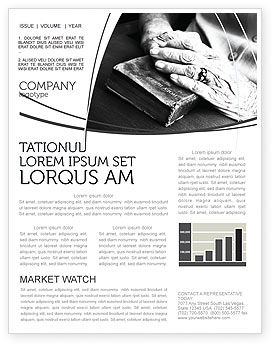 Religious/Spiritual: Good Book Newsletter Template #04645