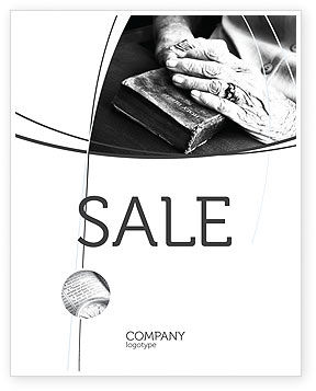 Good Book Sale Poster Template
