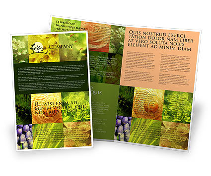 Nature & Environment: Floristic Brochure Template #04648
