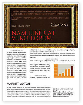 Art & Entertainment: Frame Newsletter Template #04656