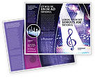 Art & Entertainment: Music Tune Brochure Template #04663