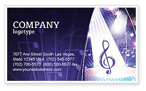 Music Tune Business Card Template Layout Download Music Tune - Music business card template