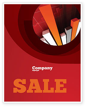 Financial/Accounting: Economic Indicator Sale Poster Template #04671