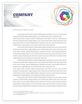 Religious/Spiritual: Peoples Diversity Letterhead Template #04673