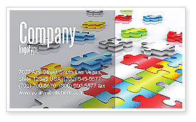 Puzzle Diversity Business Card Template