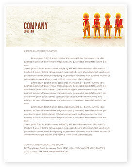 Team Player Letterhead Template