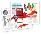 Financial/Accounting: Private Incomes Brochure Template #04694