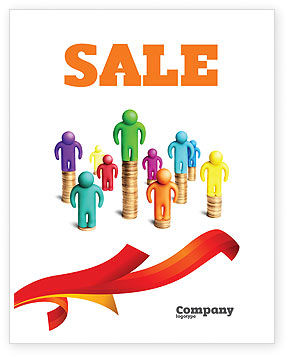 Private Incomes Sale Poster Template, 04694, Financial/Accounting — PoweredTemplate.com