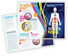 Medical: Body Chakras Brochure Template #04696