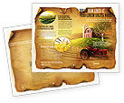 Agriculture and Animals: Life On The Farm Brochure Template #04698