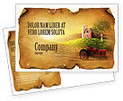 Agriculture and Animals: Life On The Farm Postcard Template #04698