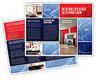 Construction: Interior Design In 3D Modeling Brochure Template #04699