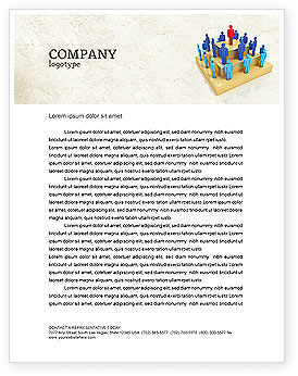 Careers/Industry: Absolute Monarchy Letterhead Template #04700