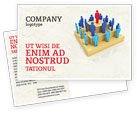 Careers/Industry: Absolute Monarchy Postcard Template #04700