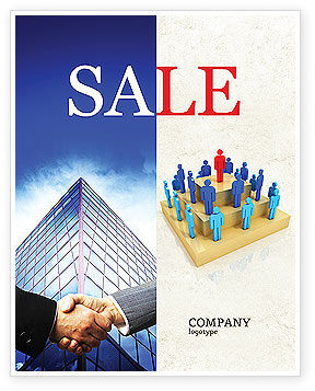 Absolute Monarchy Sale Poster Template, 04700, Careers/Industry — PoweredTemplate.com