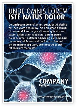 Neurons Ad Template, 04703, Medical — PoweredTemplate.com