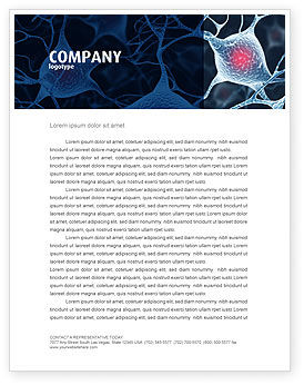 Neurons Letterhead Template