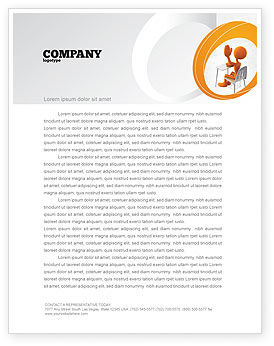 Good Pupil Letterhead Template, 04715, Education & Training — PoweredTemplate.com