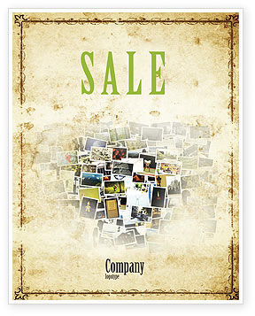 Art & Entertainment: Photo Sale Poster Template #04730